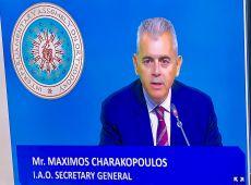 Ο Μάξιμος Χαρακόπουλος νέος Γενικός Γραμματέας Δ.Σ.Ο. • Τάχθηκε υπέρ αλληλοκατανόησης λαών και διαθρησκειακού διαλόγου