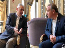 Μ. Χαρακόπουλος με ομογενείς: Θετική η σύσφιξη σχέσεων Ελλάδας - Σαουδικής Αραβίας