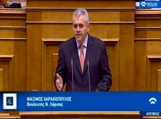 """Μάξιμος στη βουλή: Νόμος δεν είναι το """"δίκιο"""" του μπαχαλάκη…"""