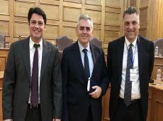 """Μ. Χαρακόπουλος σε νέα ηγεσία ΕΦΕΤ: Δεν είναι """"φυσικό φαινόμενο"""" η κατάρρευση των τιμών γάλακτος! """"Προπατορικό αμάρτημα"""" η διαδικασία επιλογής Διοικητών Οργανισμών"""