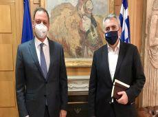 Λιβανός σε Μάξιμο: Όλοι οι πληγέντες παραγωγοί θα τύχουν της πολύτιμης συνδρομής της Κυβέρνησης!