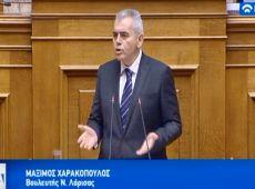 """Μ. Χαρακόπουλος στη Βουλή για Προυπολογισμό: Αναρωτηθήκατε πώς βγάζουν χειμώνα στα ορεινά του Ολύμπου και Κισσάβου; Εσείς οι """"ευαίσθητοι"""" περικόψατε το επίδομα θέρμανσης στο 1/4!"""