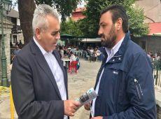 """Μάξιμος με πρόεδρο Θεσσαλών κτηνοτρόφων στη Σμίξη: """"Οι κτηνοτρόφοι περιμένουν πολλά από τον Μητσοτάκη!"""""""