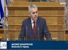 Μ. Χαρακόπουλος στη Βουλή: Εκσυγχρονισμός λαϊκών αγορών προς όφελος των καταναλωτών • Ανέφικτη η ενημέρωση του e-katanalotis από ηλικιωμένους παραγωγούς