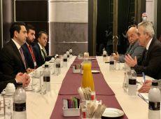 Μ. Χαρακόπουλος με Προέδρους Κοινοβουλίων Αρμενίας-Φινλανδίας-Πολωνίας: Κοινές δράσεις ΔΣΟ- Κοινοβουλίων για τις χριστιανικές αξίες στην Ευρώπη
